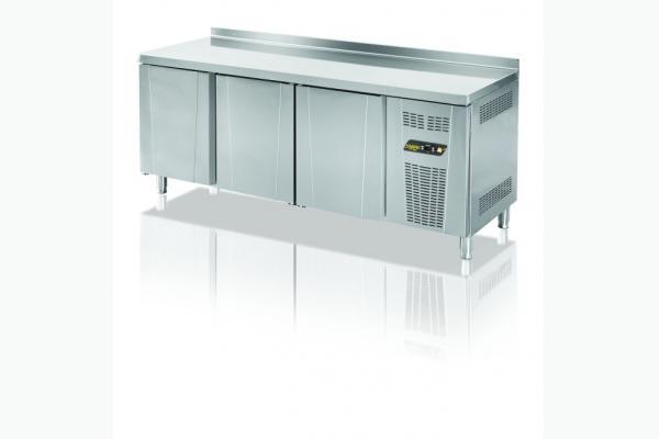 TPS-63-WOT Tezgah Tip 3 Kapılı Snack Buzdolabı - Üst Tabelasız