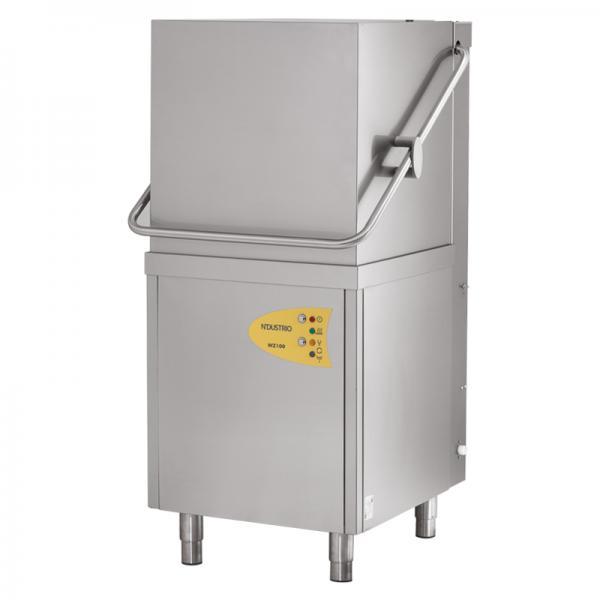 WZ100-D Giyotin Tip Bulaşık Makinesi 1000 Tabak / Saat - Drenaj Pompalı